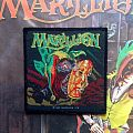 Marillion- Market Square Heroes Woven Patch