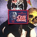 Ozzy Osbourne- The Ultimate Sin Woven Patch