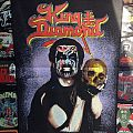 """King Diamond - """"Skull"""" Official Backpatch"""