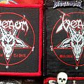 Venom-Welcome To Hell Woven Patch (w/red border)