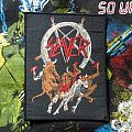 Slayer- Hell Awaits Woven Patch