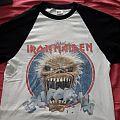 Iron Maiden 3/4 Baseball shirt