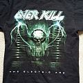 """Overkill Tour Shirt """"The Electric Age"""""""