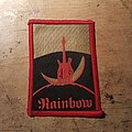 Ritchie Blackmore's Rainbow Rubber-printed Patch