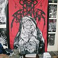 Nunslaughter - Other Collectable - Nunslaughter-Demoslaughter flag