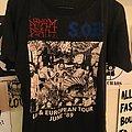 Napalm Death - TShirt or Longsleeve - Napalm Death/ S.O.B. UK tour '89