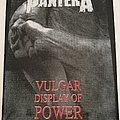 Pantera - Vulgar Display Of Power - Backpatch - 1993 (2)