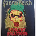 Sacred Reich - Patch - Sacred Reich - Violent Solutions - Backpatch