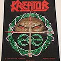 Kreator - Hallucinative Comas - Backpatch - 1991