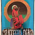 Grateful Dead - Blues For Allah - Backpatch - 1988