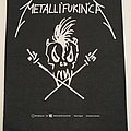 Metallica - Metalli´fukin´ca - Backpatch - 1995