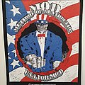 M.O.D. Method Of Destruction - U.S.A. FOR M.O.D. - Backpatch