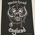 Motörhead - England - Backpatch - 1991