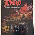 DIO - Lock Up The Wolves - Backpatch - 1990