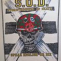 S.O.D. - Patch - S.O.D. - Stormtroopers of Death - Speak English Or Die - Backpatch
