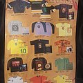 Merch sheet (roots era) Other Collectable