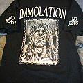 Immolation- No Jesus No Beast TShirt or Longsleeve