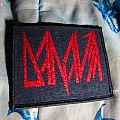 DANAVA Red Glitter patch