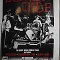 Signed Black Tide Poster- 2008 Tour