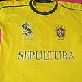 "Sepultura ""Against 1998 tour"" football tshirt"