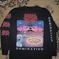 Morbid Angel - TShirt or Longsleeve -  Morbid Angel Domination LS 95 Alternate cover