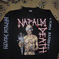 Napalm Death - Utopia Banished Tour-LS  Brilliant merch. size: L/XL TShirt or Longsleeve