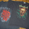 1991 Morgoth Test Print-shirt & 1990 European-Tour-shirt