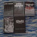 My VERY small tape collection Tape / Vinyl / CD / Recording etc