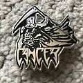 Cancer - Death Shall Rise pin