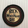 Rock Won't Never Die Patch