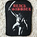 Black Sabbath - Paranoid printed patch