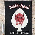 Motörhead - Ace Of Spades mini backpatch