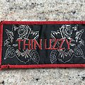 Thin Lizzy - Black Rose Patch