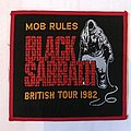 Black Sabbath - Mob Rules 1982 Patch