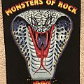 Monsters Of Rock - Patch - Monsters Of Rock 1990 Backpatch