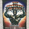 Monsters Of Rock - Patch - Monsters of Rock 1987 backpatch