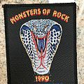 Monsters Of Rock - Whitesnake Patch - 1990