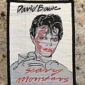 David Bowie - Scary Monsters Patch