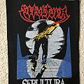 Sepultura - Escape To The Void - Vintage Back Patch