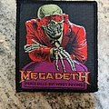 Megadeth - Patch - Megadeth - Peace Sells... Patch