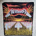 Metallica - Patch - Metallica - Master Of Puppets backpatch