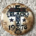 Black Sabbath - 1978 badge