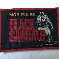 Black Sabbath - Mob Rules Patch