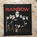Rainbow - Difficult To Cure Patch