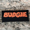Budgie - embroidered patch