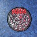 Deicide - Patch - Deicide S/T - medallion patch