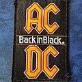 AC/DC - Back In Black Patch
