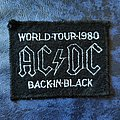 AC/DC - Back In Black World Tour Patch