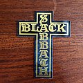 Black Sabbath - Leather patch