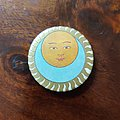 KING CRIMSON - Pin / Badge - King Crimson - Lark's Tounges In Aspic badge